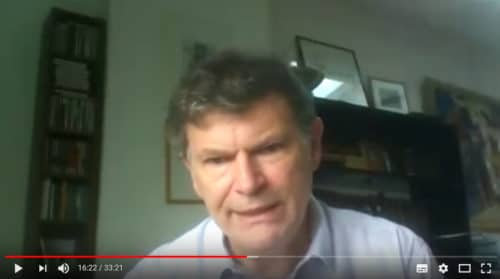 YouTube interview of Dr Arazi by canadian journalist Nicolas Pineault