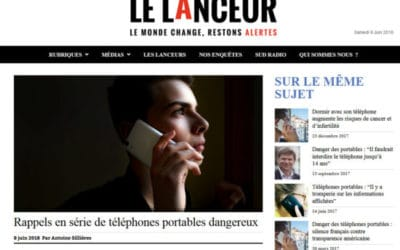 « Series of recalls of dangerous mobile phones » by Le Lanceur