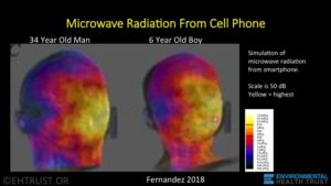 Of Cell Phone Radiation Tests That Measured Excessive Exposures When The Was Tested In Contact With Body