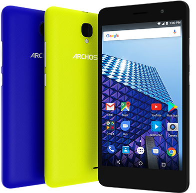 A new smartphone exceeds the regulatory thresholds: the Archos access 50