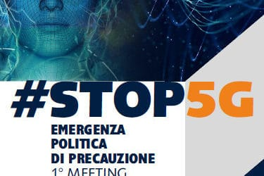 Italy: Phonegate Alert message to meeting organizers #STOP5G