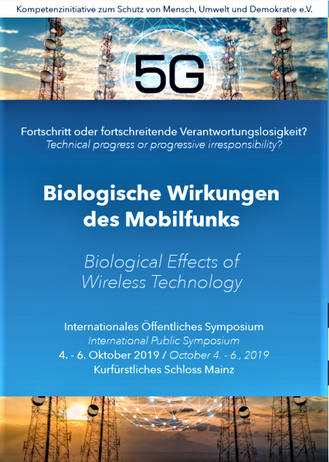 Germany: Phonegate alert invited to the International Conference in Mainz in October 2019