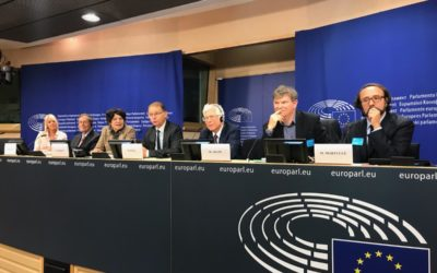 Phonegate: Dr Arazi's alert launched at the European Parliament