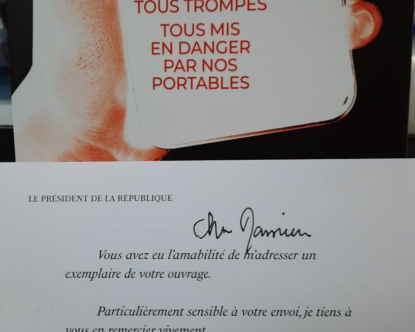 "Message from the French President following the sending of the book ""Phonegate""."