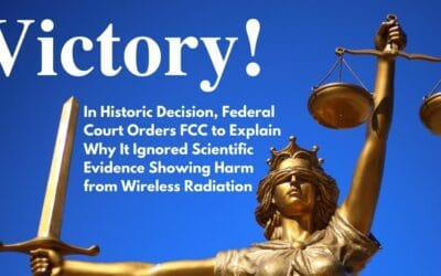 [Press Release] U.S. court orders FCC to explain standards meant to protect health of cell phone users